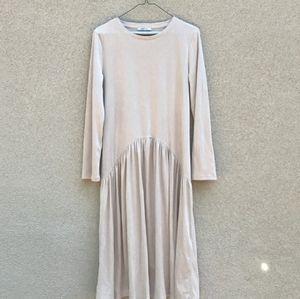 Zara thin corduroy dress